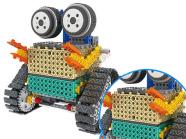 Ehitusklotside komplekt Robot 2in1