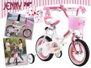 """16 """" korvi ja kellaga laste jalgratas """"Jenny"""""""