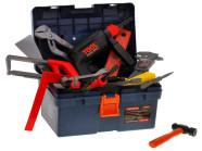 Kastiga tööriistakomplekt lastele
