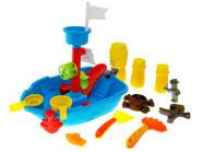 Värviline komplekt laeva ehitamiseks väikelastele