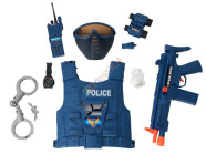 Politsei varustuse komplekt lastele