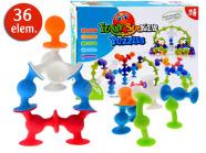 Värviliste iminappade komplekt lastele, 36 osa