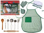 Söögiriistade komplekt + riietus lastele