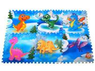 pehme puslematt Dinosaurused 6 tk