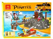 Ehitusklotside komplekt Piraadid, 248 osa