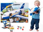 Ehitusklotside komplekt reisilennuk ja lennujaam