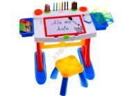 Laste mängulaud koos tooliga