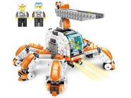 Ehitusklotside komplekt Robot, 418 osa