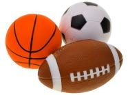 Pehme mängupall lastele