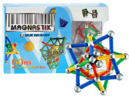 Magnetite mängukomplekt lastele, 60 osa