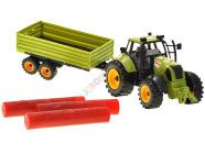 Mängusõiduk traktor järelkäruga