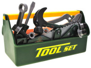 Mängu tööriistakast tarvikutega
