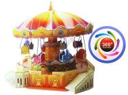 3D pusle Karusell, muusikaga