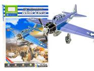3D pusle lennuk A6M Zero