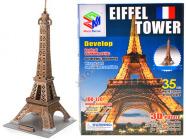 3D pusle Eiffeli torn 35 tk
