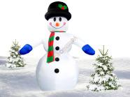Täispuhutav lumememm 3.5 m
