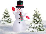 Täispuhutav lumememm 2.40 m