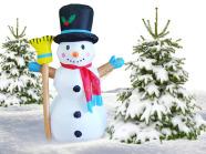Täispuhutav lumememm 1.25 m
