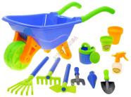 Mängu aiakäru + aiatööriistad lastele