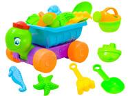 Liivakasti mänguasjade komplekt Turbo