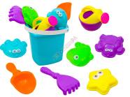 Liivavormide komplekt liivakasti mänguasjadega