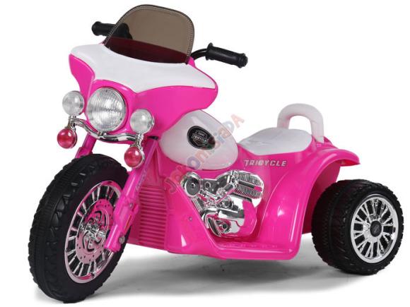 3-rattaline elektrimootorratas väikelastele PA0116