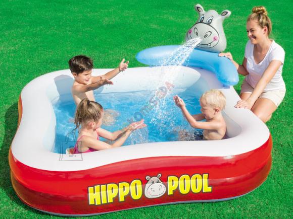 Bestway lastebassein Hippo Pool 201x201 cm
