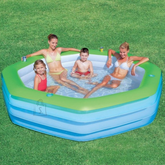 Bestway täispuhutav bassein 251x251 cm