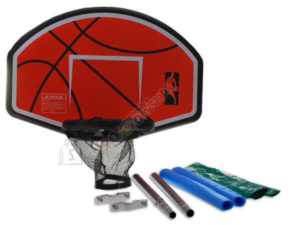 Komplekt korvpalli  mängimiseks batuudil