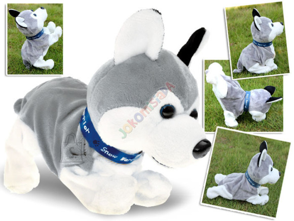 """Interaktiivne koer """"Husky"""", reageerib puudutusele"""