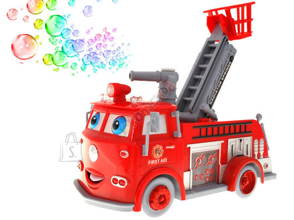 Mullitajaga tuletõrjeauto lastele