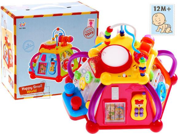 Värviline ja interaktiivne mängukeskus väikelastele