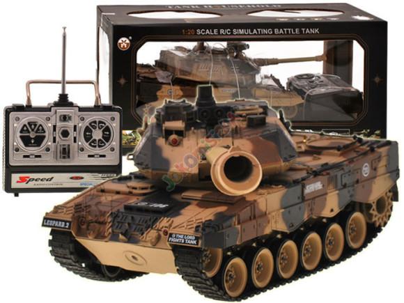 Raadioteel juhitav tank Leopard 1:20, 33 cm