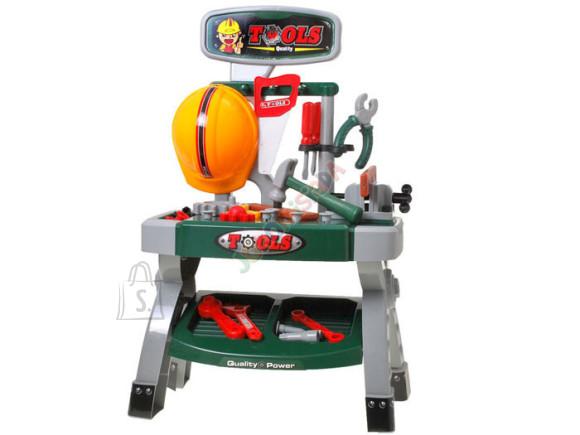 Mängu tööriistakomplekt koos lauaga lastele