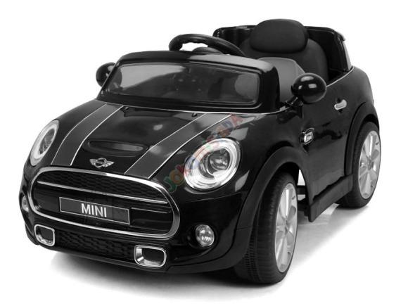 Elektriauto MINI Cooper lastele - must