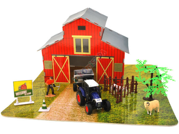 Mängukomplekt Farm