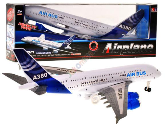 Mängusõiduk reisilennuk Airbus A380