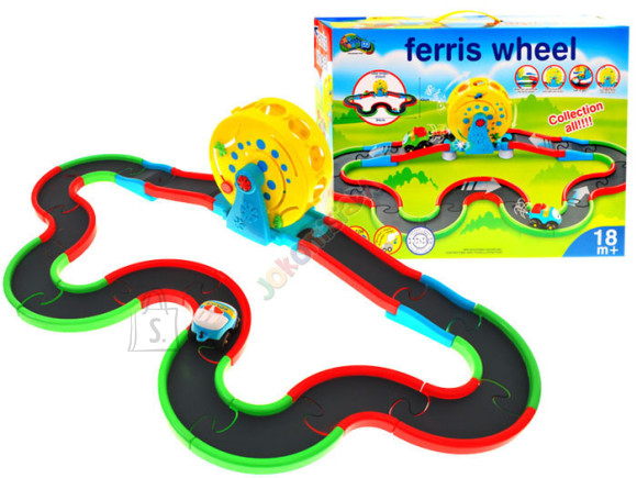 Mängurada koos autoga lastele