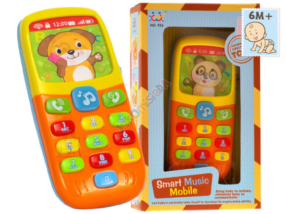 Interaktiivne mängutelefon lastele