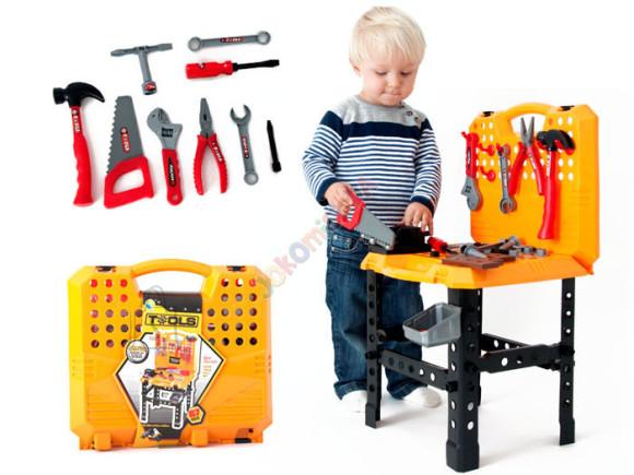 Mängu tööriistakohver tarvikutega