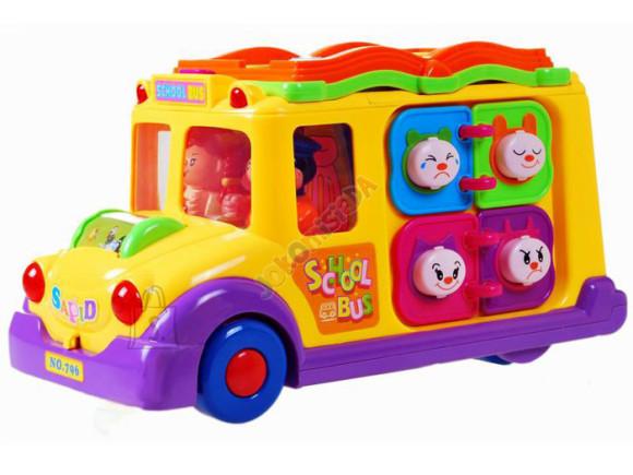 Interaktiivne mänguasi Koolibuss