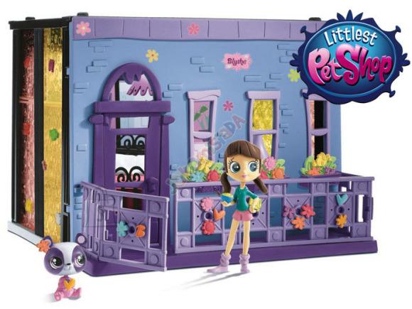 Littlest Pet Shop Blythe magamistuba