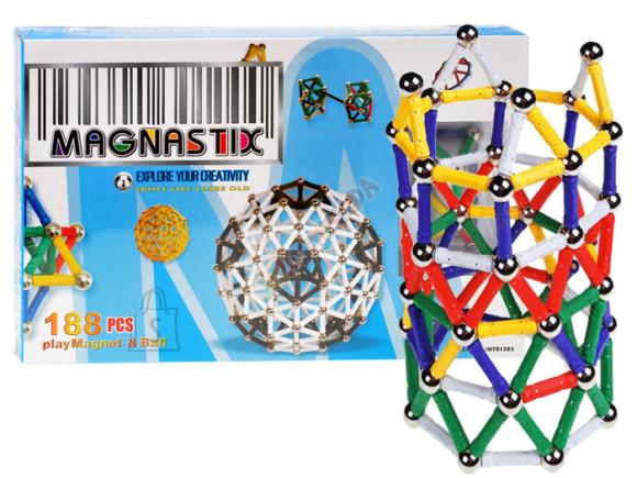 Magnetite mängukomplekt lastele, 188 osa