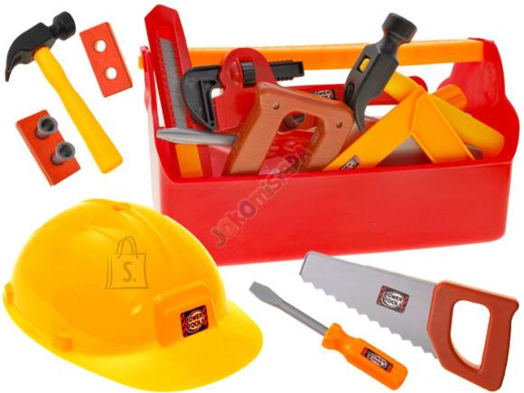 Mängu tööriistakast tarvikutega lastele