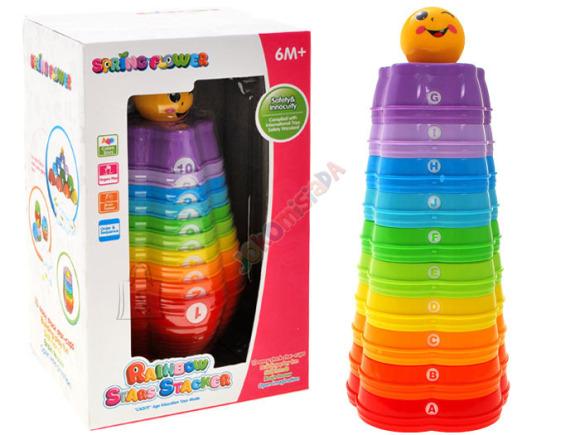 Värviline püramiid lastele
