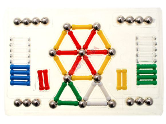 Magnetite mängukomplekt lastele, 88 osa