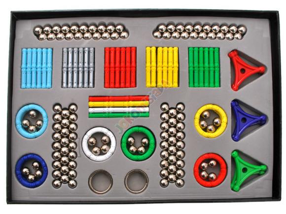 Magnetite mängukomplekt lastele, 320 osa