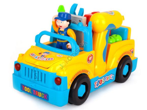 Mängusõiduk auto koos tarvikutega