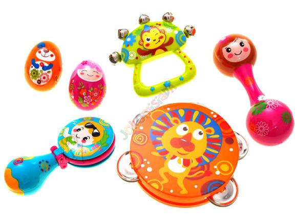 Mängu muusikariistade komplekt lastele