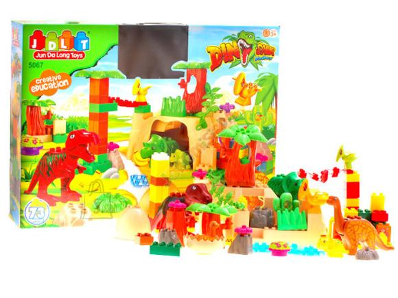 Ehitusklotside komplekt Dinosaurused